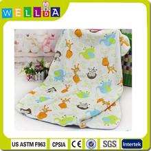 New design fashion infant swaddle wrap cotton baby blanket
