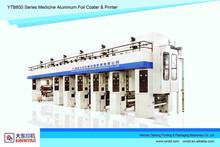 YTB800 new automatic Medicine Aluminum Foil Printing &Coating machine