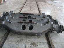 Railway vehicle equipment bogie bolster