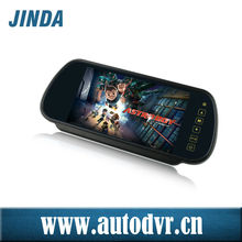 Digital LCD Screen rear view mirror backup camera installation with 7 inch(JD-738)