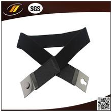fashion pu women's waist belt with elastic