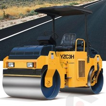 3ton Double drum vibratory road roller, hot selling HF YZC3H