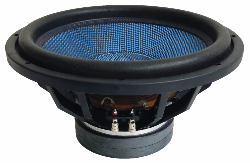 Made In China Car 1200W Car Subwoofer 15 Inch with Blue Carbon Fiber Cone(STb15)