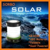 SORBO Pop-up Collapsible Ultra Bright Outdoor Emergency Solar LED Camping Lantern with Mobile Phone Charger Manufacture