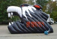 inflatable football helmet,inflatable mascot tunnel C5008