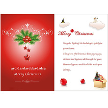 Glitter business new year card gift card printing christmas card