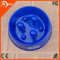 Plastic Standing Fancy Anti-choke Non-Slip Dog Bowl Slow