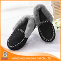 precio má bajo las mujeres de invierno negro calzado casual de las mujeres