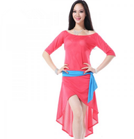 2015 High Quality Autumn Winter Latin belly dance costume dress for women (QC2395 )