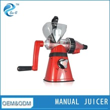 Multifunction Food Processor Mini Plastic Simple Fruit Juicer Press