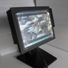 """12.1"""" restaurant equipment POS machine P-121 with Intel D2550,dual core all in one touch POS Terminals/fanless POS system"""