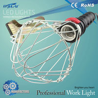 multifunctional electric metal clip portable hand lamp