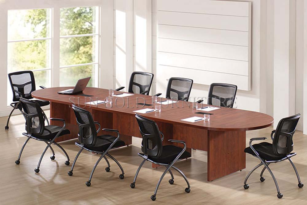 Commercial Wooden Meeting Room Conference Table Wood Conference Desk - Desk with meeting table
