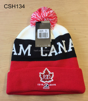 Wholesale hats canada with knitted pattern