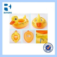 cheap high quality PVC kids duck swimming ring inflatable