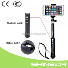Shineda FBA service mobile phone aluminum alloy bluetooth selfie wand