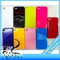 Cool design TPU hard silicone crystal case for iphone4/4s