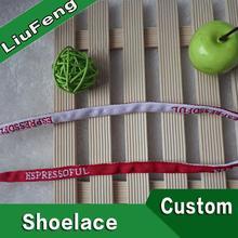 promotional custom jacquard hiking shoelaces