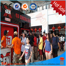 Amusement theme park 7.1 home theater system 5d cinema