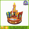 2015 Cake roundabout rotating cake cup amusement park ride
