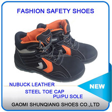 work man steel toe cap safety shoe for hot selling of factory price, stylish best work safety shoes with S1P and PU sole
