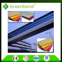 Greenbond advanced construction material acm panel
