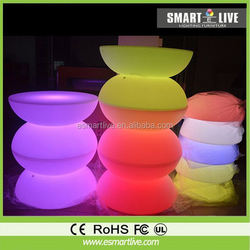 modern bar counter /led furniture/glowing led bar table