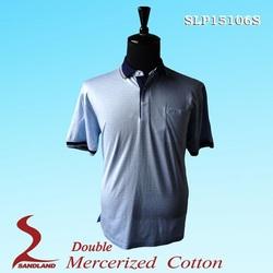 2015 Wholesale Men's cheap 100% polyester polo shirt