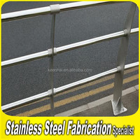 Fabrication Project 304 Stainless Steel Road Railing