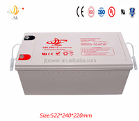12v200ah gel battery long life and deep cycle 12v200ah gel rechargeable battery hot sale