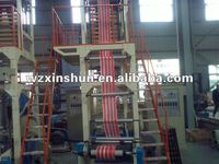 XS-SJ Series 2 colors PE Film Blowing Machine