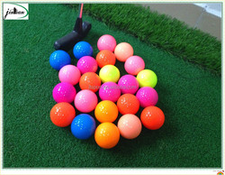 2015 newest 80 - 90 Hardness product Hot sale promotion colored golf ball Wholesale