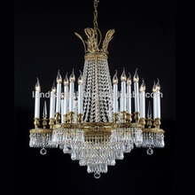 Crystal Brass Chandelier Luxory Suspension five star hotel,villa,palace interiors