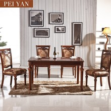 Cheap European style wooden dinning table/dinning table set/kitchen table