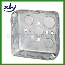 4x4 2x4 boxes and cover galvanized steel metal junction box
