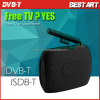Hot New WiFi DVB-T ISDB-T TV Receiver for iPad / iPhone / Android Smartphones & Tablets, Free to Air TV