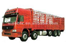30 tons HOWO 8x4 van truck