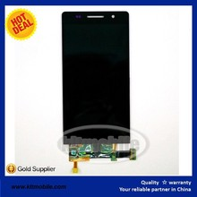 Cell Phone Original New Black Color Lcd +Touch Screen Digitizer Assembly Comeplete Lcd Replacement For Huawei Ascend P6