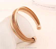 2015 Hot Selling The new bracelet Metal mesh weave bracelet for party