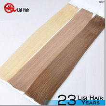 2015 Alibaba Good Feedback Waterproof Super Tape Wholesale Remy 100 percent human hair extensions tape ins