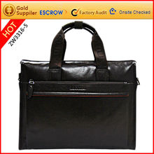 2012 hot beauty and briefcase genuine leather