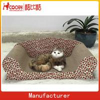 DS05 Sofa shape manufacture natural cat scratching pad