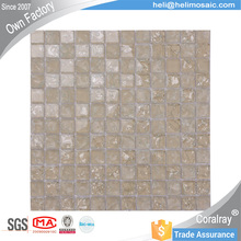 Frosting Crackle Crystal Glass Mosaic For Swimming pool Bathroom Decorative tile