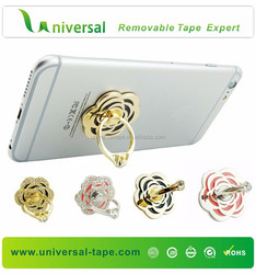 2015 Hot Sale Reusable Metal Rings Phone Stand Holder Promotional