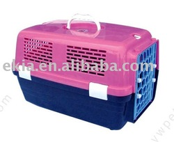 fashion pink plastic pet kennel