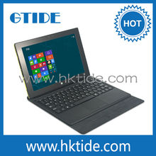 Promotion!! Pogo Pin Keyboard with Touch Pad Folio Case for Windows Tablet