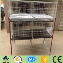 galvanized H type chicken breeding chicken cage