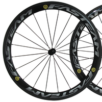 OEM brand new carbon wheelset with powerway R13 light hub 700c carbon clincher wheels wholesale
