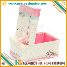 custom candy color packaging paper box making & decorative paper covered boxes
