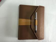 2016 Ring Binder Calendar Notebook Attached Pen